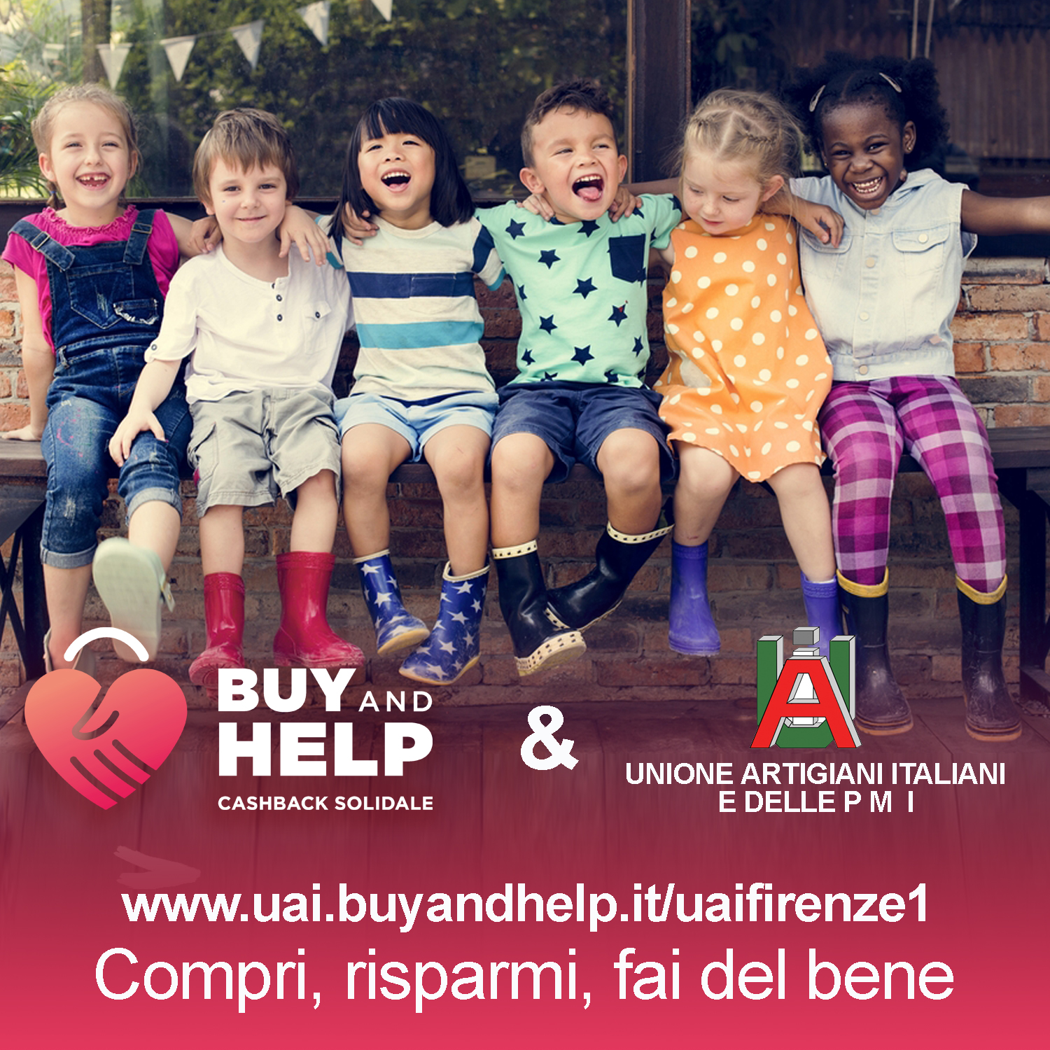 UAI Buy & Help portale di acquisti solidali on-line - Compra e Aiuta